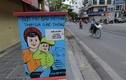 Bốt điện ở Hà Nội truyền đi thông điệp phòng chống COVID-19