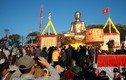 Hô thần nhập tượng lớn nhất VN trên đỉnh Yên Tử