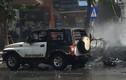 Vụ nổ xe taxi ở Quảng Ninh qua lời kể của người thoát chết