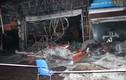 Cảnh hoang tàn sau vụ cháy cửa hàng nội thất ở Quảng Ninh