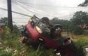 Hà Giang: Xe khách lật ngửa, nhiều người bị thương