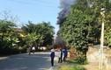 Phú Thọ: Bốn xe ô tô va chạm liên hoàn, bốc cháy ngùn ngụt