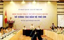 Thủ tướng yêu cầu triển khai nhóm chuyên trách chống nạn xâm hại trẻ
