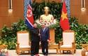 Ảnh: Thủ tướng Nguyễn Xuân Phúc hội kiến Chủ tịch Triều Tiên Kim Jong-un
