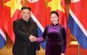 Ảnh: Chủ tịch Quốc hội Nguyễn Thị Kim Ngân tiếp Chủ tịch Triều Tiên