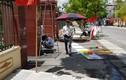 Hải Dương: Căng pano cổng huyện ủy, 3 công nhân thương vong vì bỏng điện