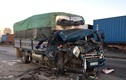 Xe tải va chạm xe đầu kéo đang đỗ trên QL5, một người tử vong