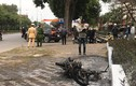 Vi phạm giao thông, đốt xe máy khi CSGT kiểm tra: Xử lý sao?