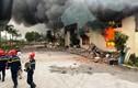 Cháy lớn tại Công ty IVORY Thanh Hóa: Hơn 400 cảnh sát tham gia dập lửa