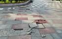Hải Phòng: Cận cảnh vỉa hè phố đi bộ Tam Bạc sụt lún, bong tróc