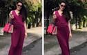 Thời trang sành điệu của bà bầu Trang Nhung