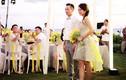 Lễ cưới đơn giản của An Dĩ Hiên và chồng tỷ phú ở Mỹ
