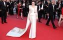 Lý Nhã Kỳ diện váy quảng bá hình ảnh Vịnh Hạ Long ở Cannes
