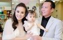 Chồng Vy Oanh hiếm hoi xuất hiện bên vợ, khoe hai con giống hệt bố