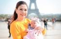 Thanh Thảo mang con gái 3 tháng tuổi đi diễn gây chú ý