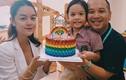 Phạm Quỳnh Anh - Quang Huy vui vẻ tổ chức sinh nhật cho con gái