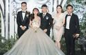 Vợ chồng Khánh Thi và loạt sao dự đám cưới con gái Minh Nhựa