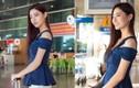 Lương Thùy Linh xinh bội phần ngày trở về từ Miss World