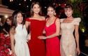 Dàn sao tưng bừng dự tiệc năm mới cùng Hoa hậu Hà Kiều Anh