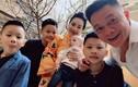 Chân dung bà xã gắn bó 13 năm, sinh bốn nhóc tỳ cho BTV Quang Minh