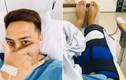 Thanh Duy ngã cầu thang, bị đứt dây chằng đầu gối phải phẫu thuật