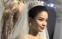Dương Hoàng Yến mặc váy cưới lộng lẫy, dự báo sắp lên xe hoa