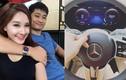 Bảo Thanh khoe được chồng tặng xe sang tiền tỷ