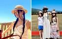 Diva Hồng Nhung trẻ trung cùng 2 con đi xem đua ngựa