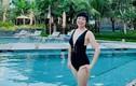 MC Thảo Vân hiếm hoi khoe ảnh mặc bikini ở tuổi 50