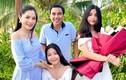 MC Quyền Linh hạnh phúc bên vợ và 2 con gái cao vượt trội