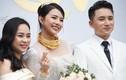 Vợ Phan Mạnh Quỳnh đeo vàng nặng trĩu trong đám cưới