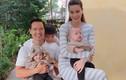 Hồ Ngọc Hà - Kim Lý hạnh phúc bên ba con trong ngày nghỉ lễ