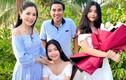 Quyền Linh về nhà với vợ con sau 4 tháng rong ruổi từ thiện