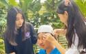 Con gái úp bát cắt tóc cho MC Quyền Linh, kết quả bất ngờ