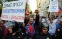 Toàn cảnh 2 cuộc biểu tình về Ukraine ở Moscow