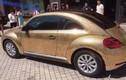 Độc đáo Volkswagen Beetle phủ 10.000 đồng xu lấp lánh