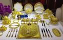 Thăm thú làng gốm chế tác bàn tiệc dát vàng cho lãnh đạo APEC