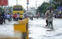 Mưa 4 buổi chiều liên tiếp, dân Sài Gòn khốn khổ lội nước