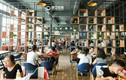 Bên trong canteen của ĐH Trung Quốc giống nhà hàng năm sao