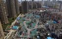 Toàn cảnh khu nhà ổ chuột đổ nát giữa Thượng Hải sầm uất