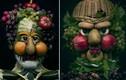 Ngắm bộ tranh chân dung siêu thực từ rau củ quả