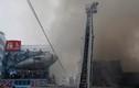 Hình ảnh cháy chợ cá lớn nhất thế giới ở Nhật Bản