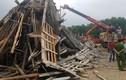 TP Huế: Sập giàn giáo, nhiều công nhân bị chôn vùi trong đống đổ nát