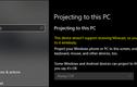 Biến laptop Windows 10 thành màn hình phụ không dây