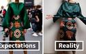 """Hô biến quần áo """"giẻ rách"""" mua trên mạng thành đồ thời trang"""
