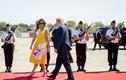 Ngắm loạt váy áo khiến Đệ nhất phu nhân Mỹ Melania Trump nổi bật tại G7