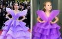 Cô bé 6 tuổi gây sốt khi bắt chước thời trang thảm đỏ của các mỹ nhân thế giới