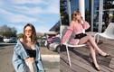 Nàng hot girl lai Pháp gây sốt trên đất Mỹ vì cách ăn mặc cực sexy