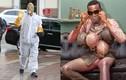 Kinh ngạc những kiểu trang phục phòng Covid-19 lạ đời của sao Hollywood