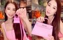 Ngắm bộ sưu tập túi xách toàn màu hồng của nữ đại gia Singapore